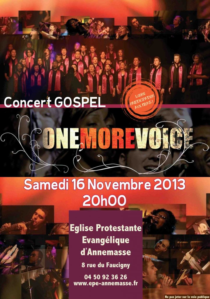 ONE MORE VOICE 2013