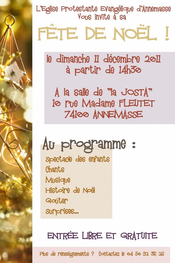 Noël 2011 Verso