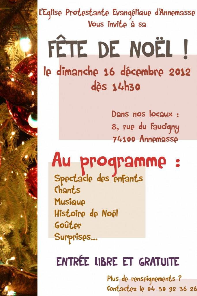 Noël 2012 verso