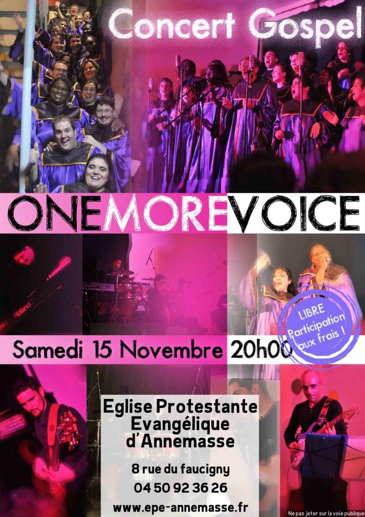 Pub ONE MORE VOICE 2014